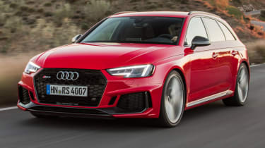 Audi RS4 2018 review - header