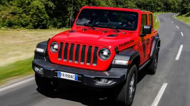 New Jeep Wrangler Rubicon - front
