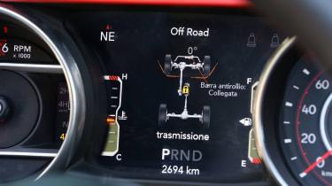 New Jeep Wrangler Rubicon - speedo