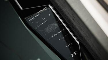 Audi skysphere concept - controls