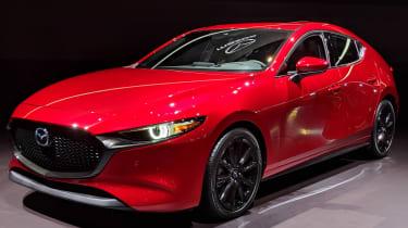 New Mazda 3 at LA motor show 2018