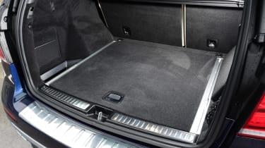 Mercedes GLE 2015 boot
