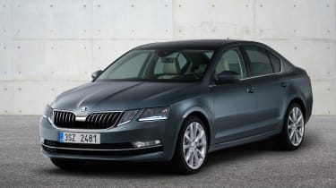 New 2017 Skoda Octavia facelift