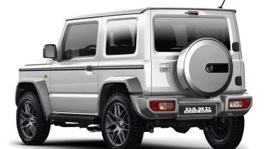 Suzuki Jimny 'Little G' - rear
