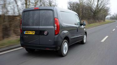 Fiat Doblo Cargo van 2015 - rear tracking