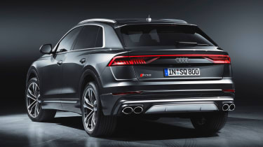 Audi SQ8 - studio rear