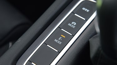 Volkswagen Passat GTE drive mode button