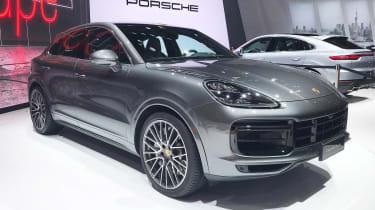 Porsche Cayenne Coupe - Shanghai front