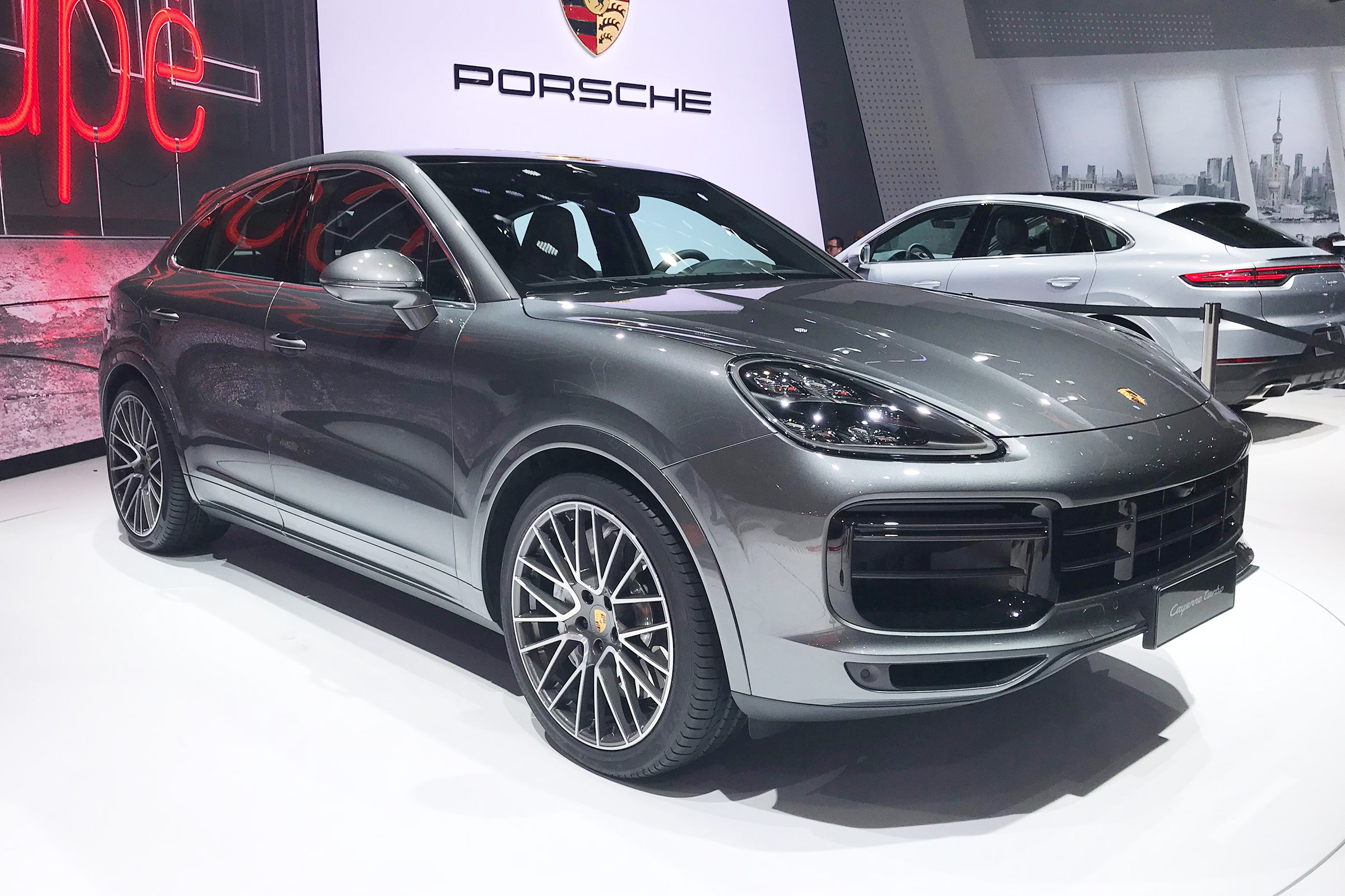 New Porsche Cayenne Coupe Makes Public Shanghai Debut Auto Express