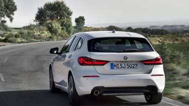 New BMW 1 Series 2019 corner