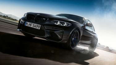 BMW M2 Coupe Edition Black Shadow - front action