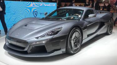 Rimac C_2 at Geneva Motor Show