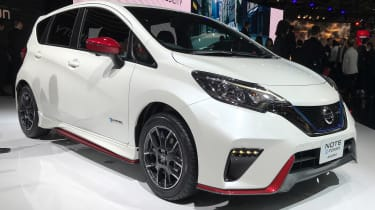 Nissan Note Nismo - Tokyo front