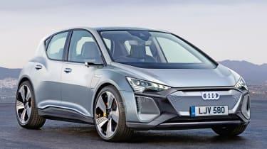 Audi e-tron compact hatch - front