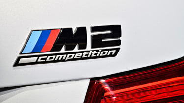 BMW M2 Competition - badge