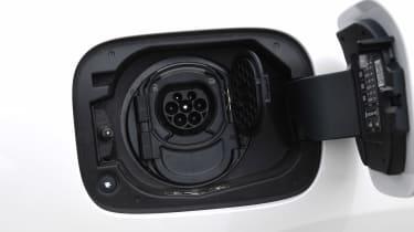Mercedes EQC - charging port