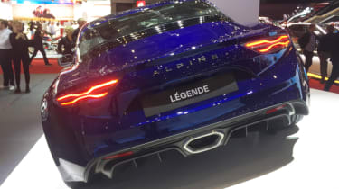 Alpine A110 Legende rear end