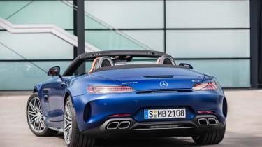 Mercedes-AMG GT C - rear static