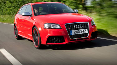 Audi RS3 Sportback front tracking