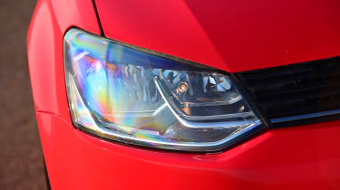 Volkswagen Polo - front light details