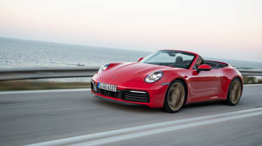 New Porsche 911 Cabriolet 2019 side