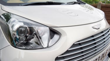 Searching for the Aston Martin Cygnet - headlight
