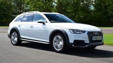 Audi A4 Allroad - front