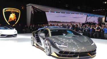 Geneva Motor Show 2016 - Lamborghini Centenario 2