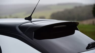 Vauxhall Corsa - rear spoiler