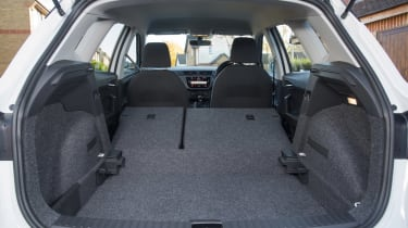 SEAT Arona boot seats down