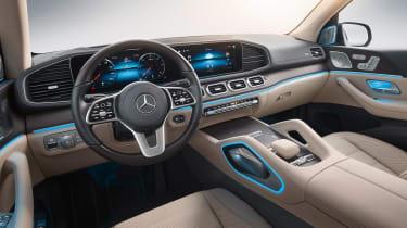 Mercedes GLS - studio cabin