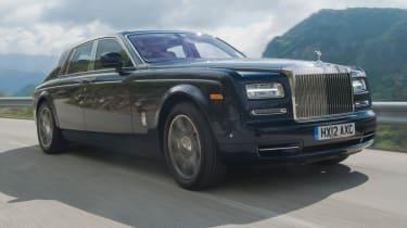 Rolls-Royce Phantom II front tracking