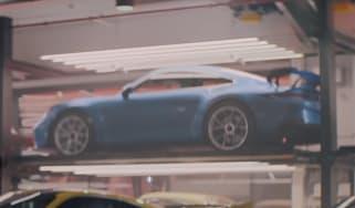 Porsche 911 GT3 - Super Bowl advert teaser