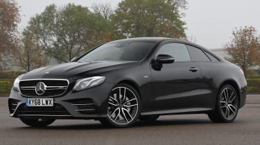 mercedes amg e53 coupe static front