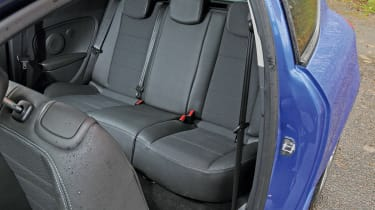 Renault Megane Coupe rear seats