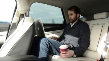Ford Mondeo Vignale road trip - Johnny rear