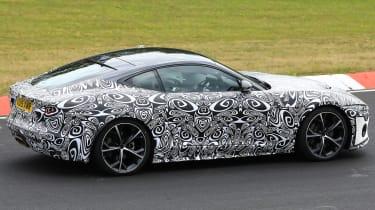 Jaguar F-Type - spied - side cornering