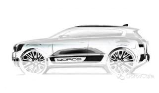 Qoros 2 SUV teaser