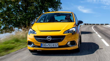 Vauxhall Corsa GSi - full front