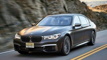 BMW 7 Series 760Li - front tracking 3