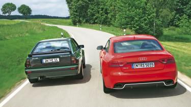 Audi RS5 vs. Audi Sport Quattro