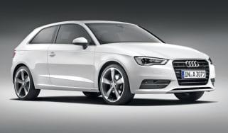 Audi A3 front three-quarters