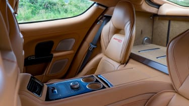 Aston Martin Rapide S 2014 rear seats