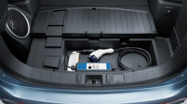 Mitsubishi Outlander PHEV 2014 boot