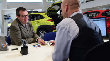 Hyundai Kona Electric Premium SE - long term first report dealership