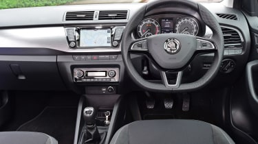 Skoda Fabia SE L: long-term test review - first report dash