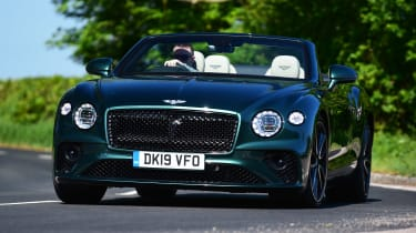Bentley Continental GT Convertible - front action