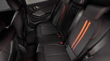 New BMW 1 Series 2019 rear seats