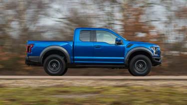 Ford F-150 Raptor pick-up truck - side