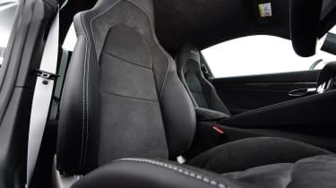 Porsche 911 GTS - front seat